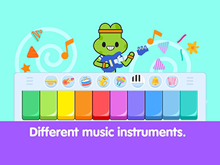 Baby Piano For Toddlers: Kids Music Games 3