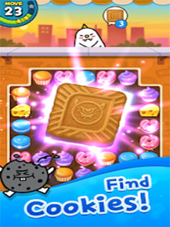 Match 3 Puzzle Sweet Monster_2