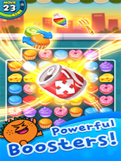 Match 3 Puzzle Sweet Monster_3