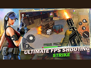 FPS OPS Shooting Strike 3