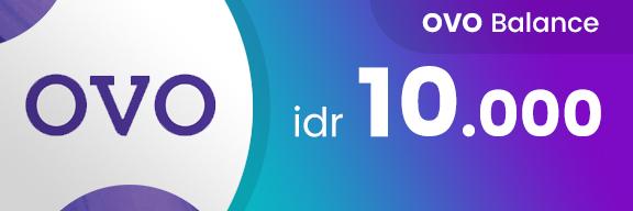 Saldo OVO IDR 10K