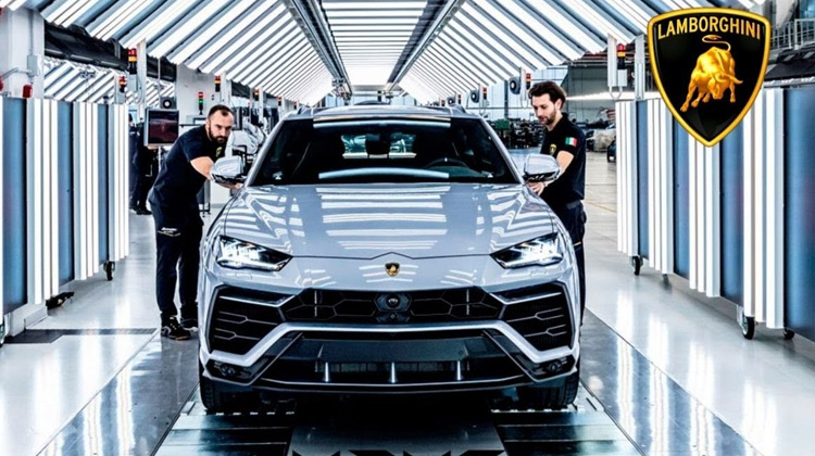 Lamborghini URUS Production - Italian Super SUV