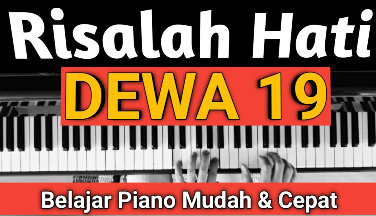 Yozar channel - Risalah Hati ( DEWA 19) Piano Cover