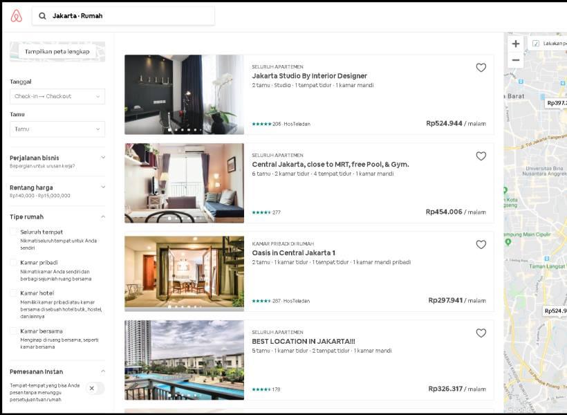 Plus Minus Menggunakan Layanan Airbnb