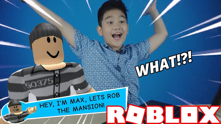 Roblox Rob the Mansion!!